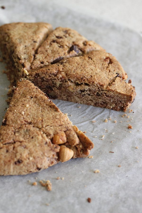 Hazelnut-Pecan-and-Chocolate-Scones