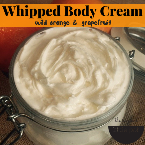 Image Whipped Body Cream Wild Orange Grapefruit
