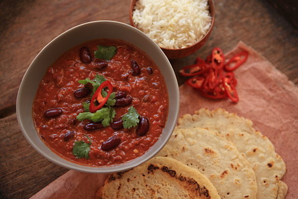 Kidney Bean Masala Stew
