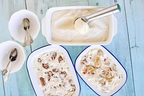 Killer Vanilla Meringue Ice Cream With Variations