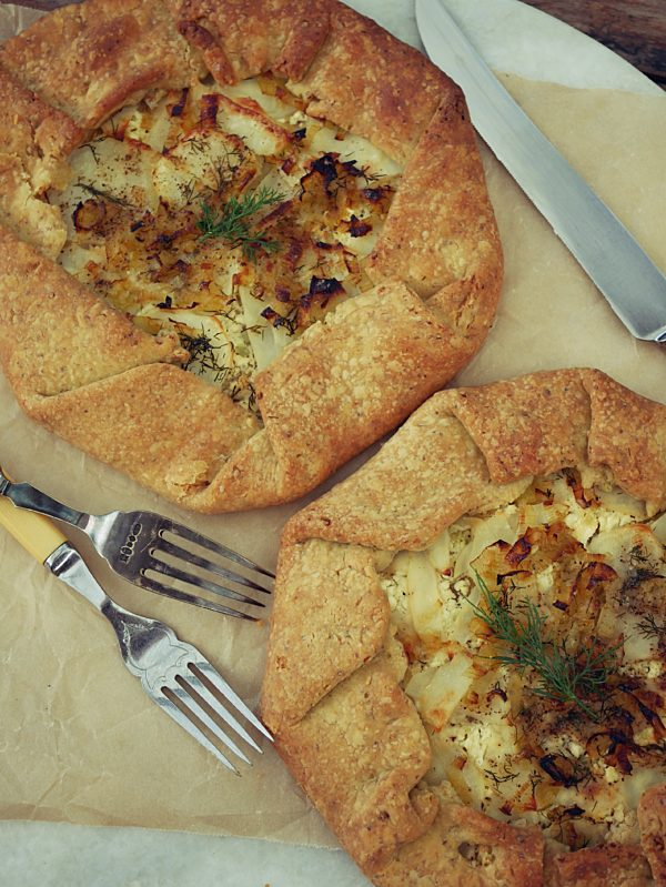 Leek and Potato Galette OH P Thermomix
