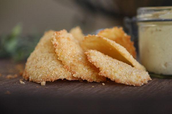 Lemon Parmesan Wafers Cu