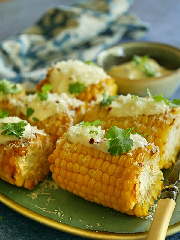 Mexican Corn on the Cob P Thermomix