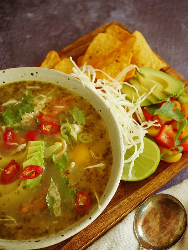 Mexican Tortilla Soup P Thermomix