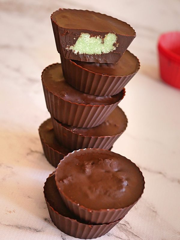Minty Coconut Butter Cups Fotor