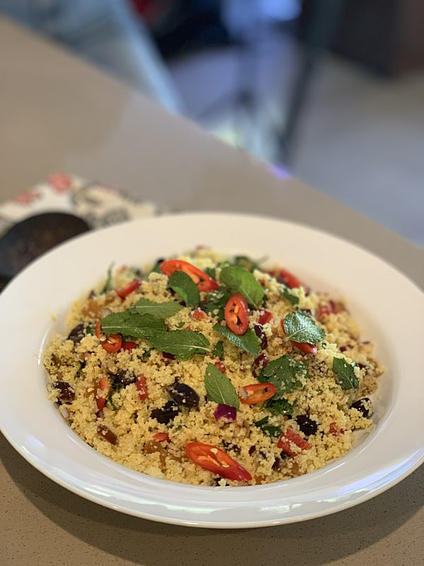 Moroccan Couscous with Stolen Mint