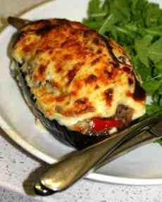 Moussaka-Stuffed-Eggplant