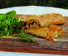 Mushroom and Feta Strudel copy