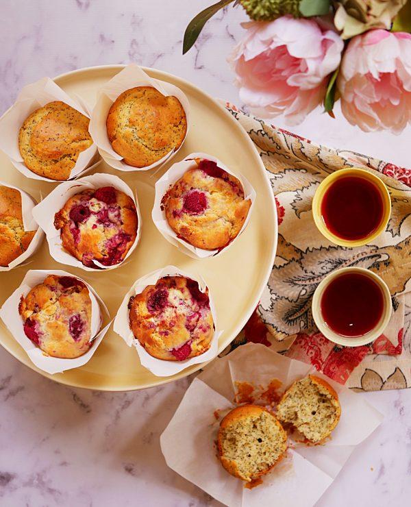 Orange Poppy Seed Raspberry White Chocolate Muffins LS Fotor