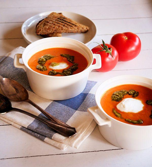 Orange Tomato Soup Fotor