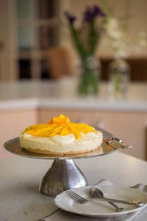 Orange Mango Cheesecake