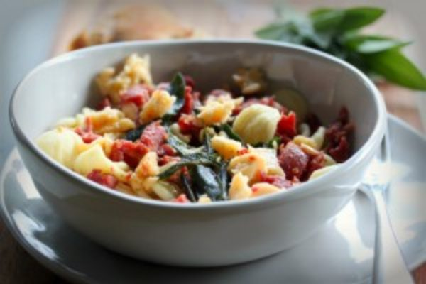 Orecchiete-Pasta-with-Italian-Sausage-and-Sage-300x200