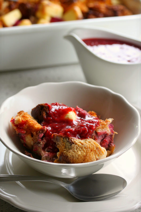 Overnight Raspberry French Toast 1