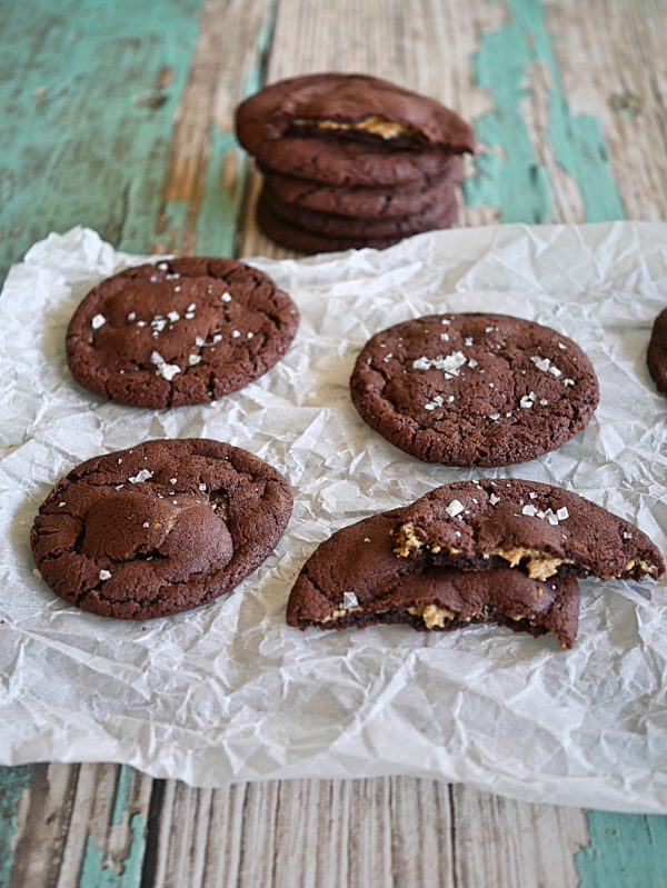 Peanut Butter Chocolate Cookies P Fotor