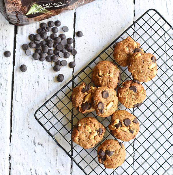 Peanut Butter Cookies Overhead Fotor