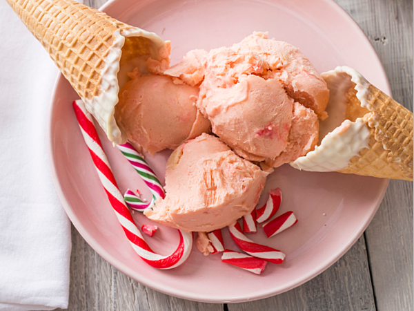 Peppermint Candy Ice Cream DROP