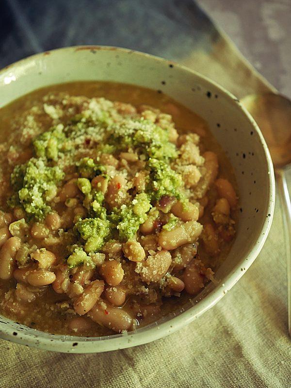 Pesto Beans P Thermomix