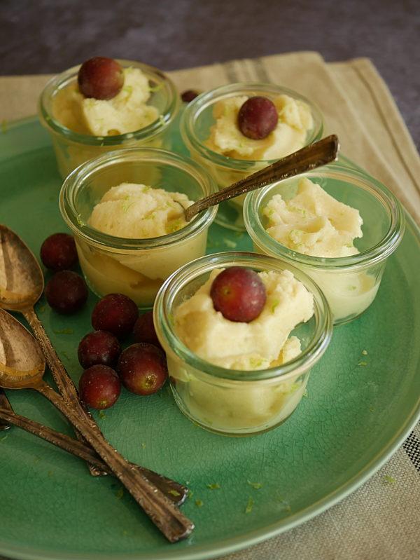 Pine Lime Yoghurt Palate Cleanser