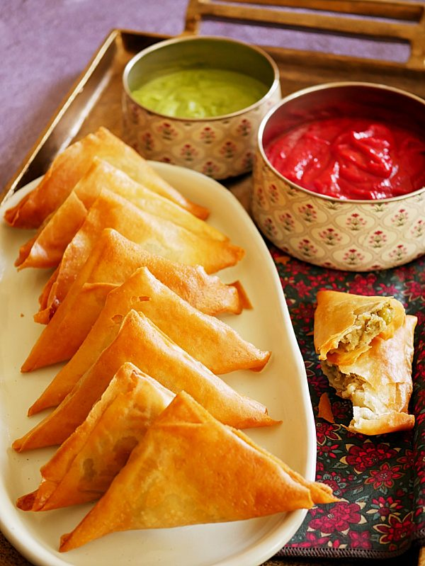 Potato Pea Samosa P Thermomix