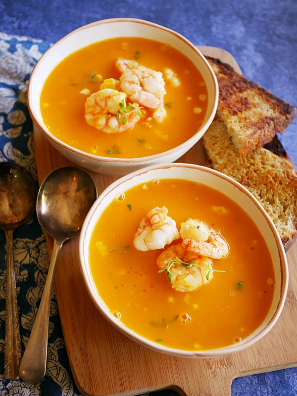 Prawn and Corn Bisque OH P Thermomix