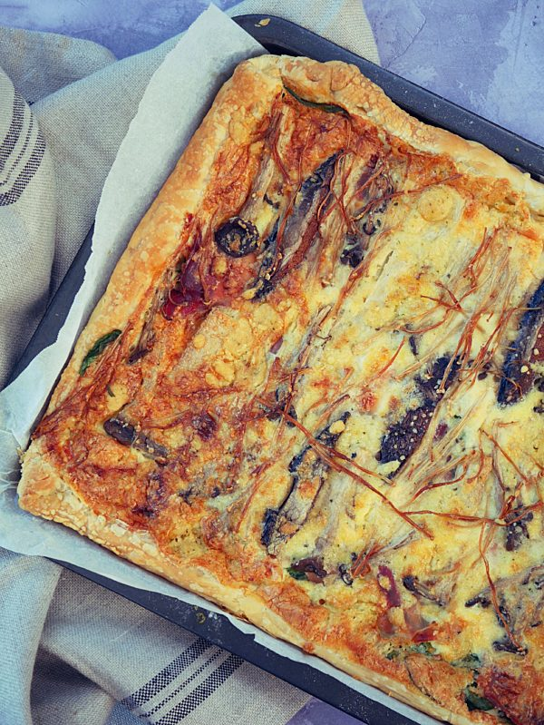 Puffy Breakfast Quiche OH P Thermomix