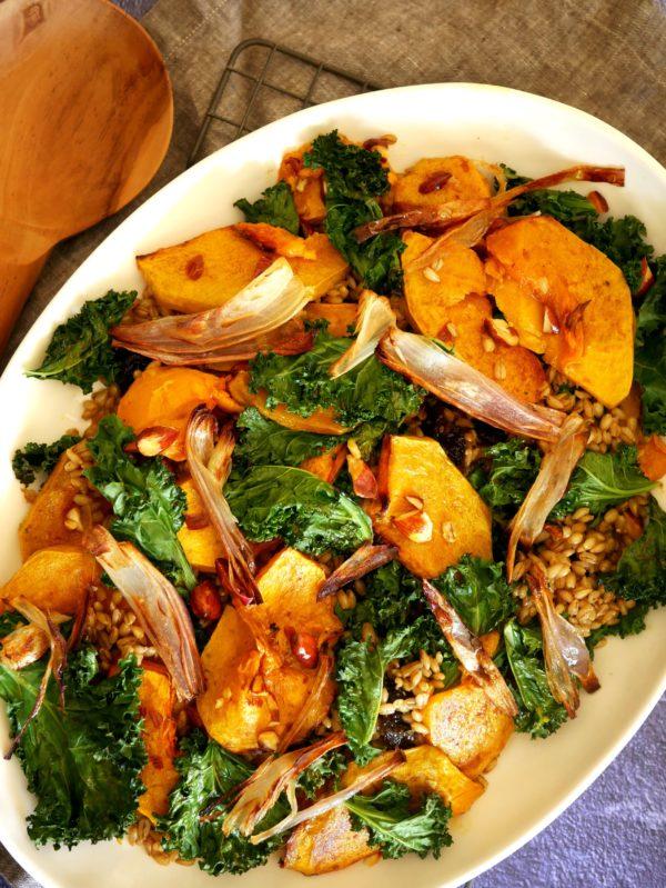 Pumpkin Kale Salad OH P Thermomix