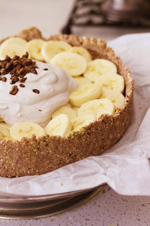Raw Banoffee Pie Fotor
