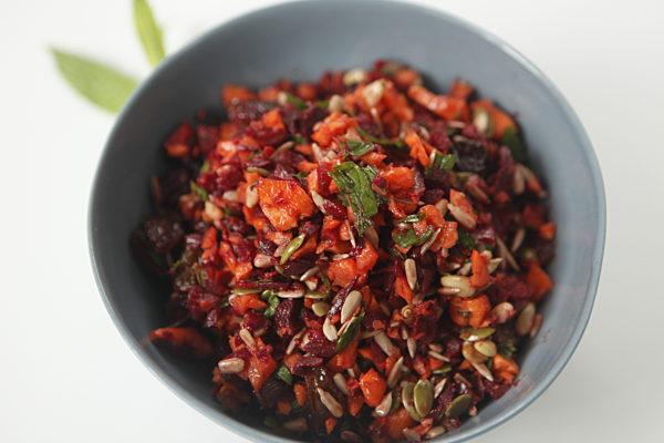 Raw Energy Beetroot Salad
