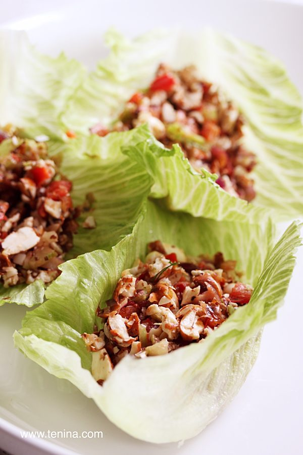 Raw Tuna Salad Fotor
