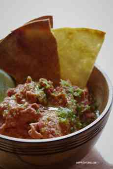 Red Kidney Bean Dip Fotor