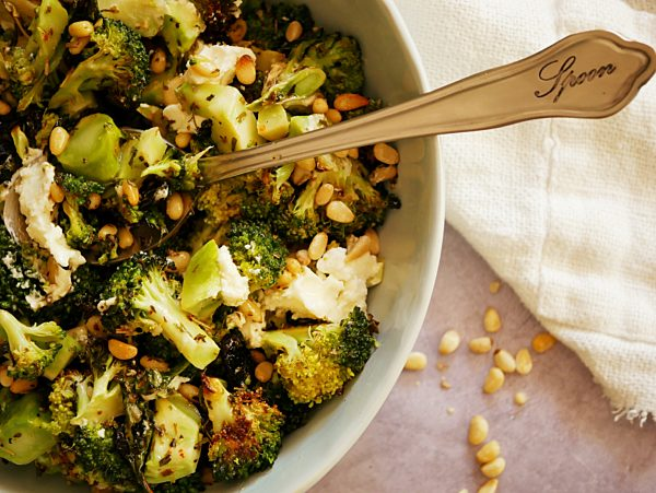 Roasted Broccoli Salad OH LS Thermomix