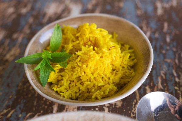 Saffron-Tumeric-Rice