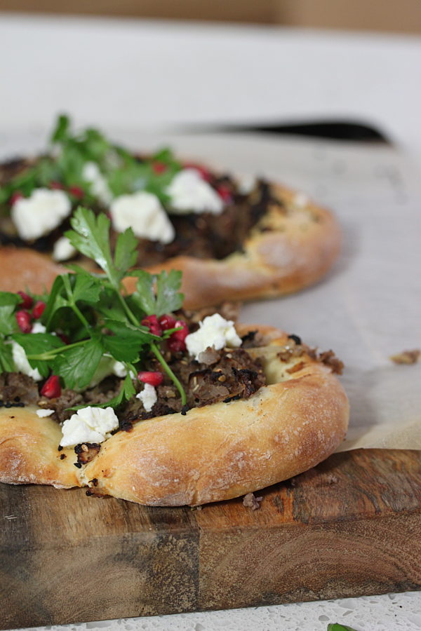 Savoury Lamb Flatbreads Copy