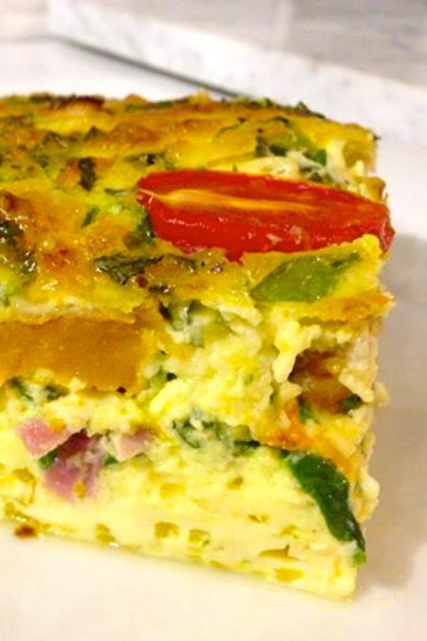 Savoury-baked-egg-custard