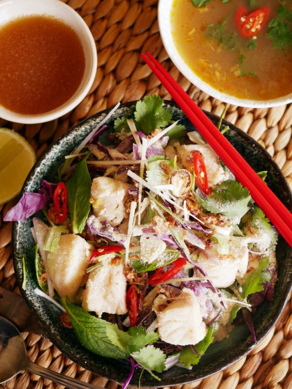 Seafood Larb Salad with Bamboo Broth OH P THERMOMIX
