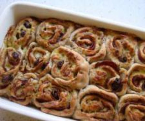 Seeded Salami Cheese Scrolls