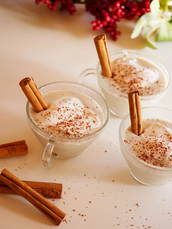 Smoked Christmas Spiced Egg Nog P Thermomix