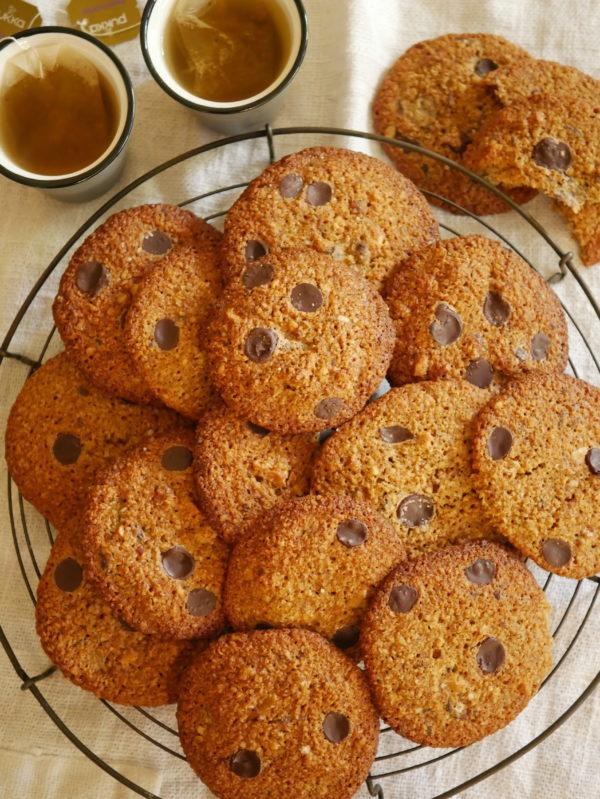 Sourdough Discard Choc Chip Cookies P