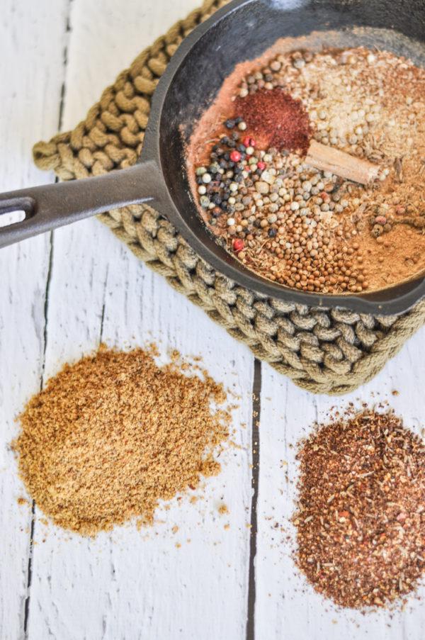 Spice Mixes 1