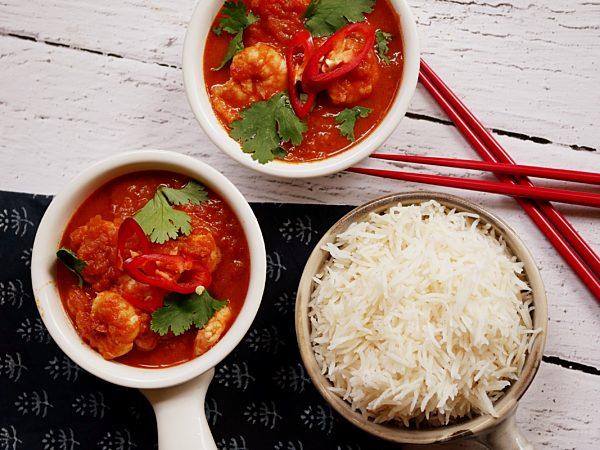 Spicy Prawn Curry Fotor