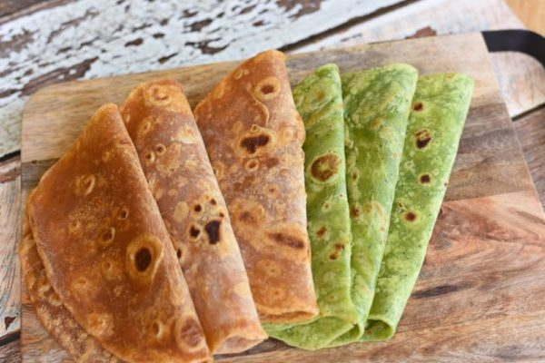 Spinach And Chilli Tortillas 1