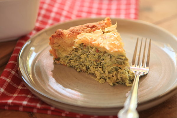 Photo of Spinach & Rice Pie