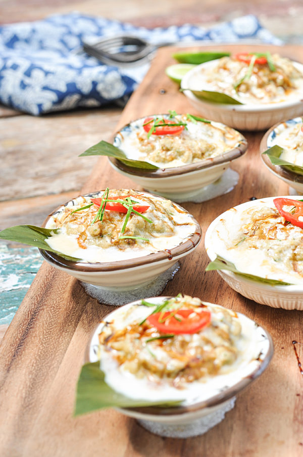 Steamed Thai Fish Pots