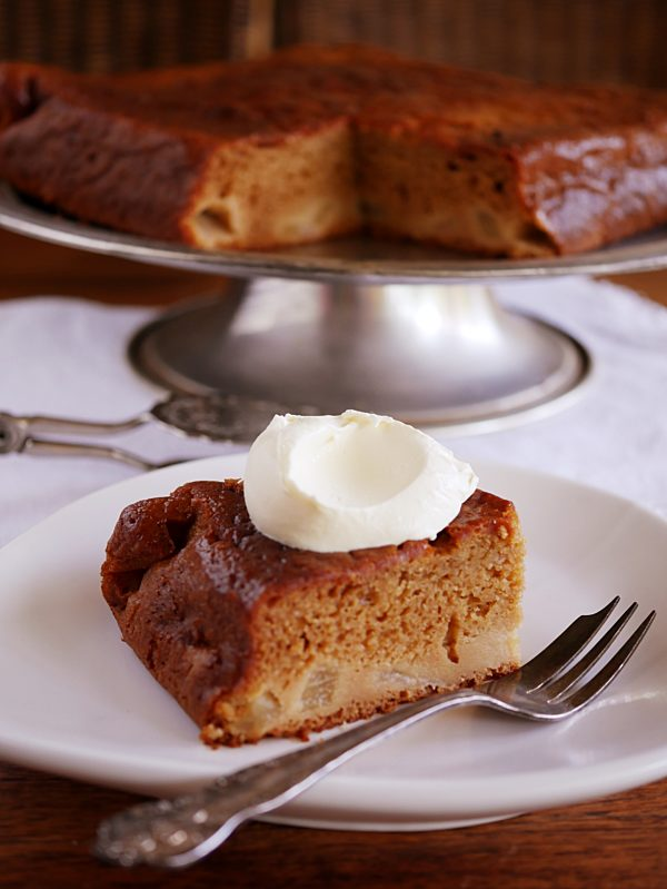 Photo of Sticky Pear Ginger Cake