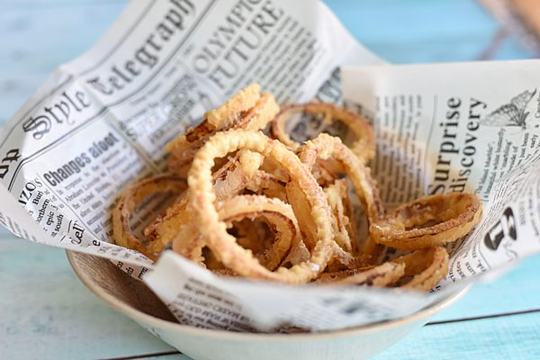 Tempura Battered Onion Rings 1 1