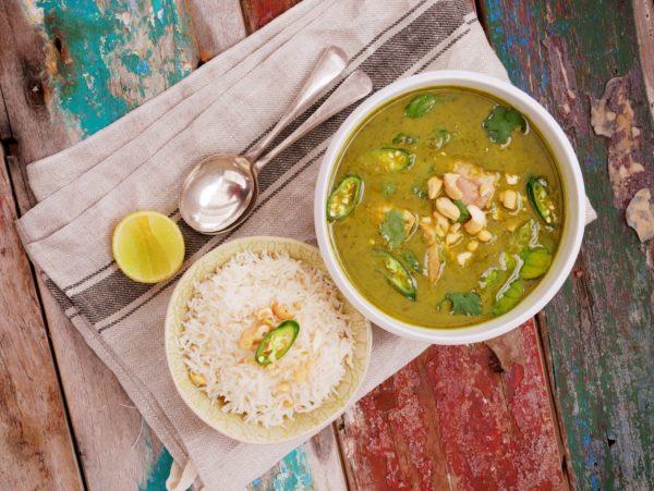 Thai Green Chicken Curry Fotor