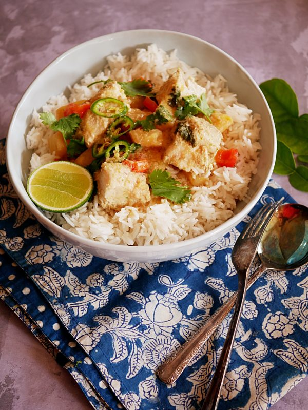 Thai Pineapple and Shark Curry P