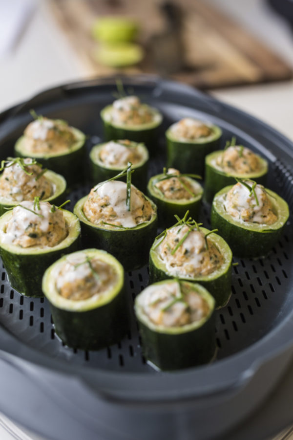 Photo of Thai Prawn or Chicken Stuffed Zucchini