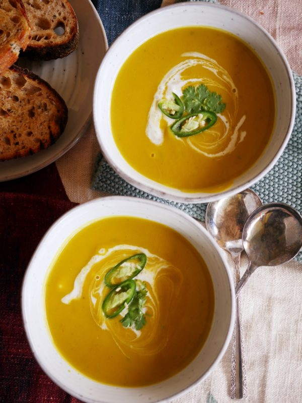 Thai Pumpkin Soup OH P Thermomix