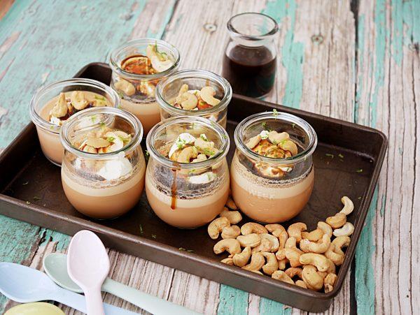 Thai Tea Jellies with Lime Caramel Syrup angle Fotor